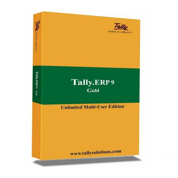 Tally ERP 9.0 Gold